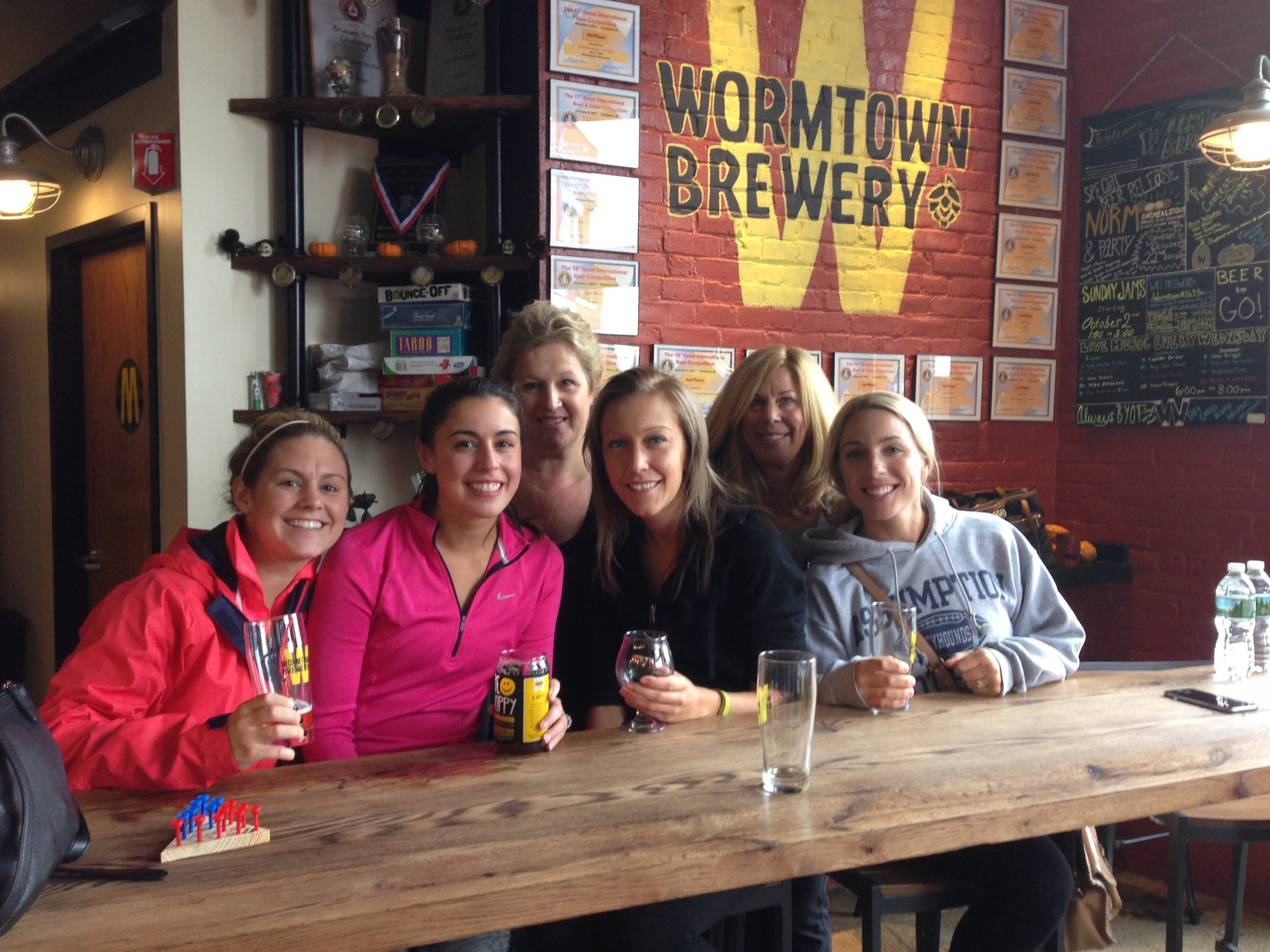 yoga classes in brewery taprooms