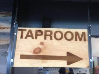 designing a taproom space