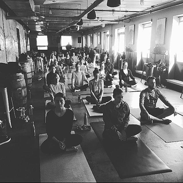 Taproom yoga trillium